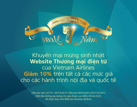 vietnam airlines 7 years