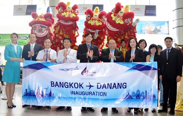 bangkok airways mo tuyen DAD BKK 2
