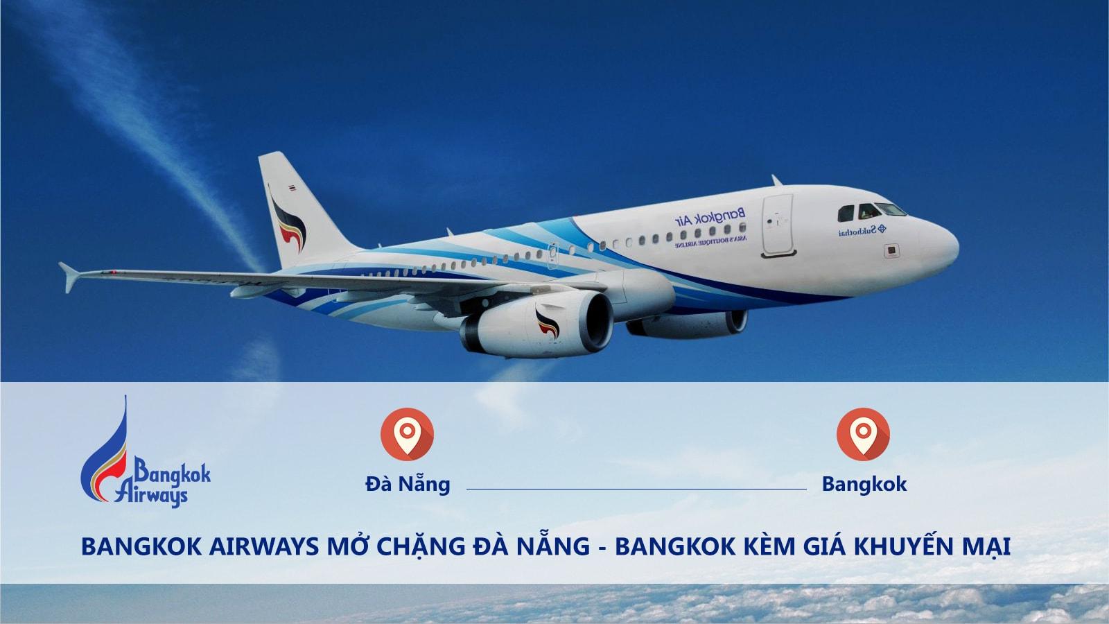 bangkok airways mo tuyen DAD BKK