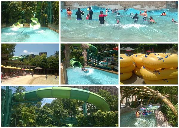 Adventure Water Park Collage