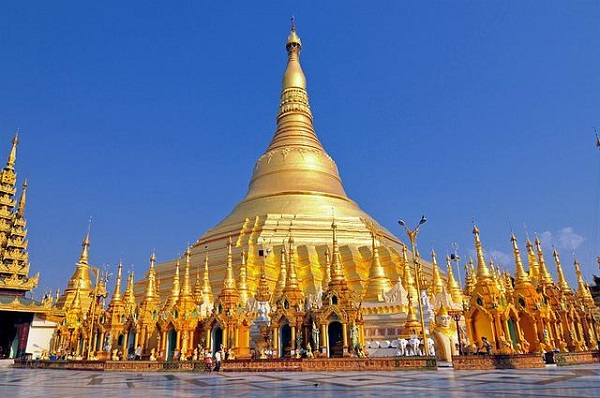 Chua vang o Myanmar
