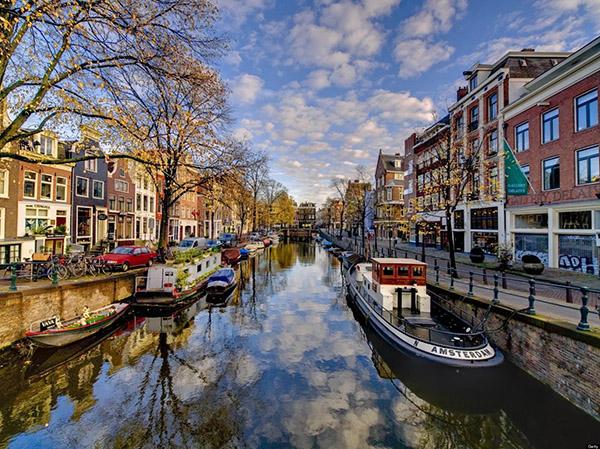 kenh dao Amsterdam