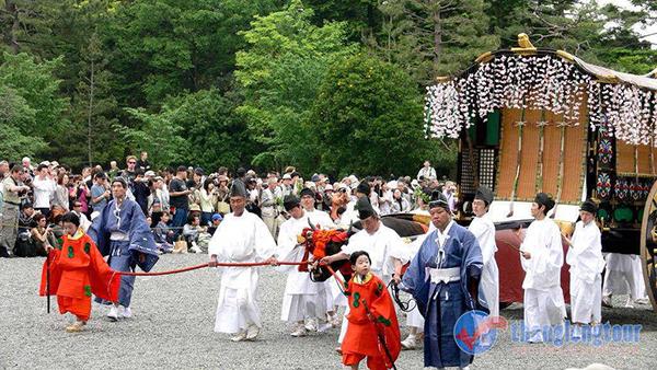 Le hoi Aoi Matsuri o Kyoto