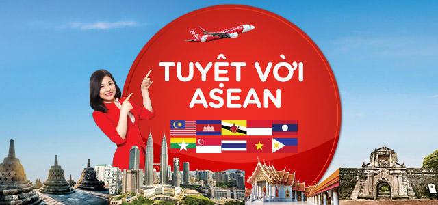 Photo of Air Asia khuyến mãi mừng 49 năm thành lập ASEAN