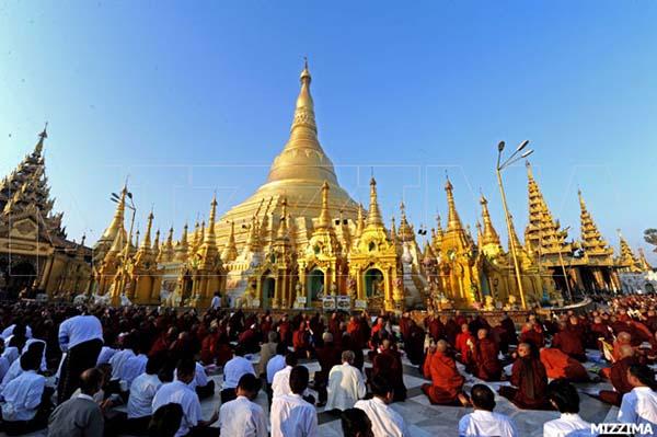 le hoi chua shwedagon