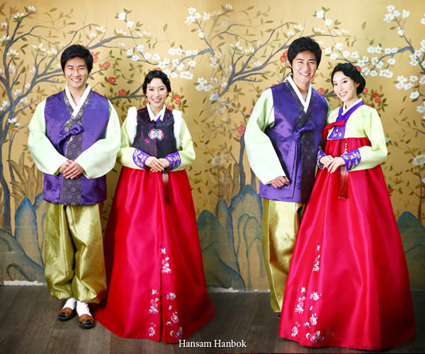 lich su trang phuc hanbok han quoc