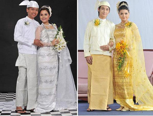 trang phuc truyen thong myanmar