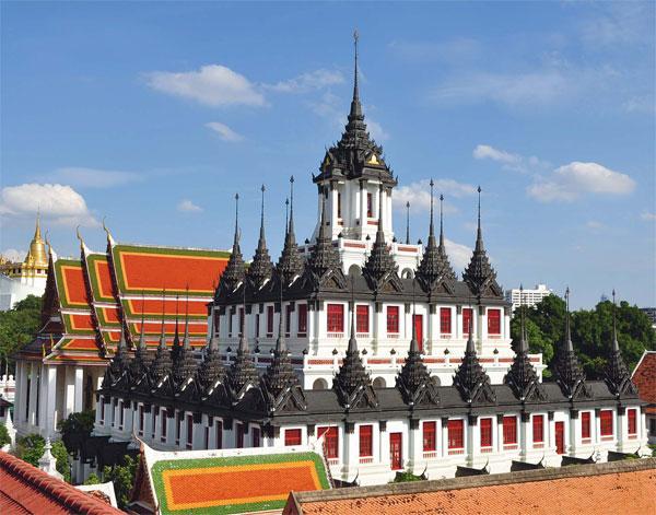 Chua Wat Ratchanaddaram du lich Thai Lan
