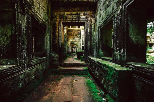 cac loi di doc hanh lang Preah Khan
