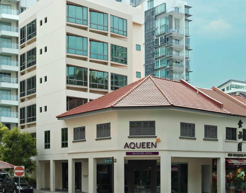 Aqueen Hotel Lavender 1