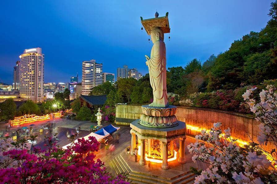 Den Bongeunsa Seoul