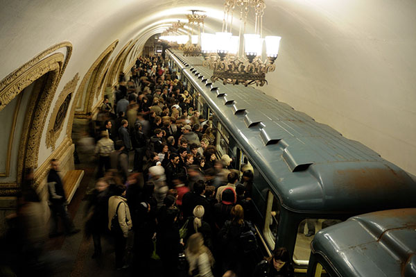 Moscow MetroCrowded pixinn.net