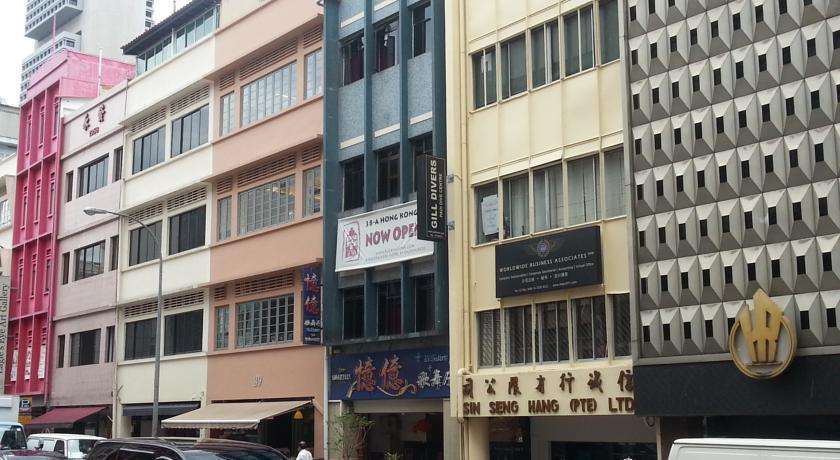 Rucksack Inn Hong Kong Street