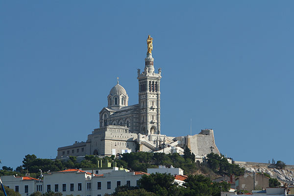 nha tho Notre Dame de la Garde