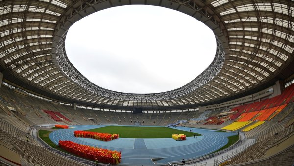san van dong Olympic Luzhniki