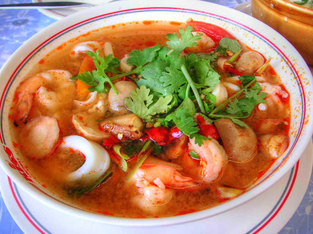 tom yum goong thai lan