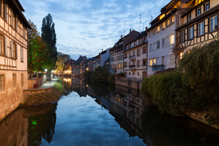 trung tam lich su cua Strasbourg