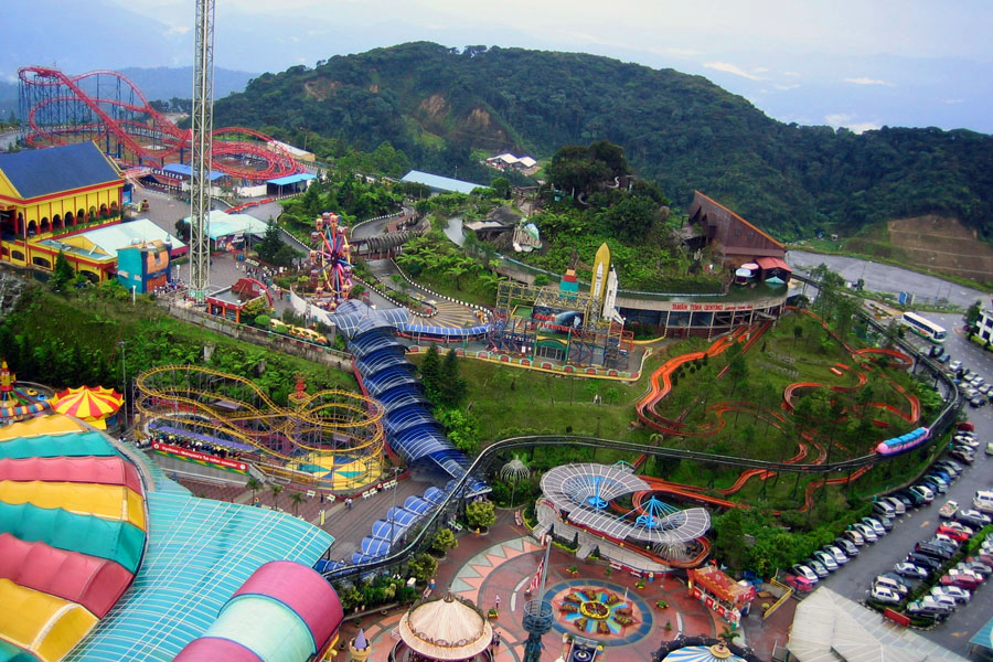 Theme Park cao nguyen genting