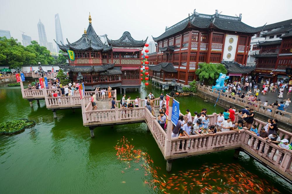 shanghai Yu Yuan Garden