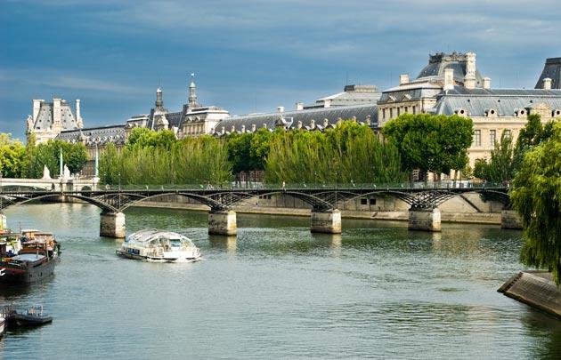 Pont des arts Louvre