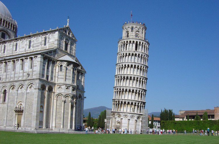 thap nghieng Pisa 1