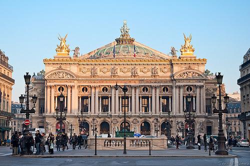 Opera Garnier Opera Bastille 2
