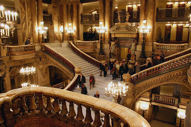Opera Garnier Opera Bastille 5