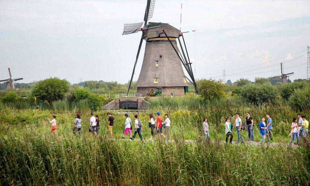 lang coi xay gio Kinderdijk 2