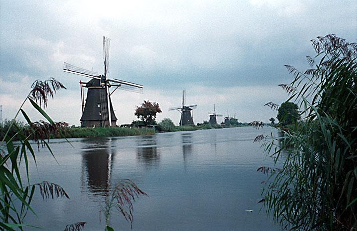 lang coi xay gio Kinderdijk 3