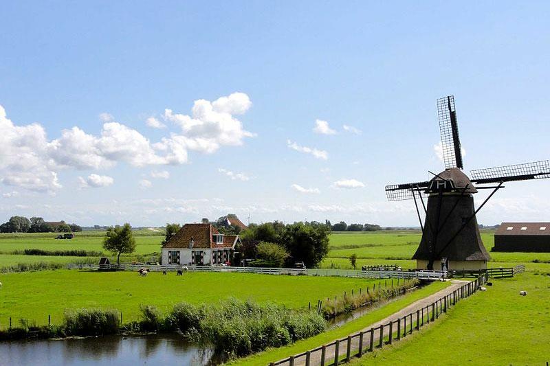 lang coi xay gio Kinderdijk 4