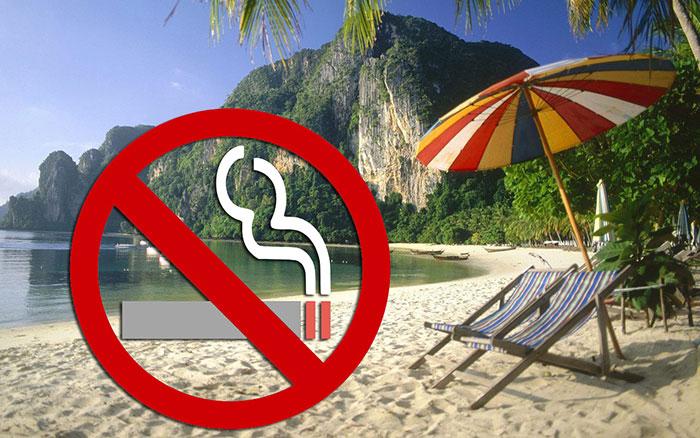 Photo of Lệnh cấm hút thuốc lá tại 20 bãi biển nổi tiếng ở Thái Lan