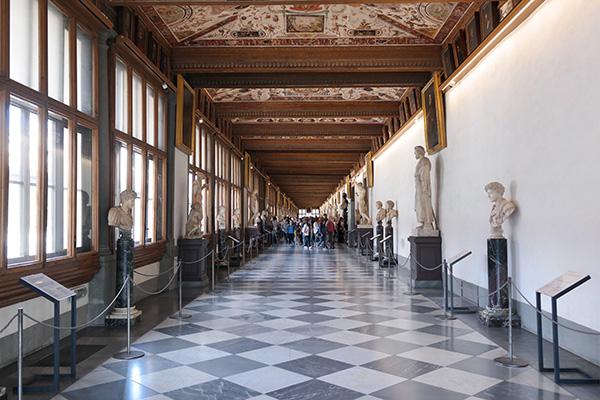 Galleria degli Uffizi 3